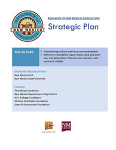 2017 Resilience in NM Agriculture Strategic Plan