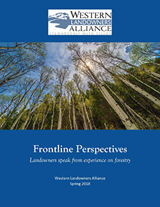 Frontline Perspectives Landowners forestry