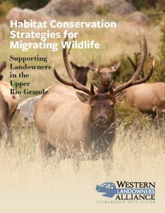 Habitat Conservation Strategies for Migrating Wildlife Cover Image