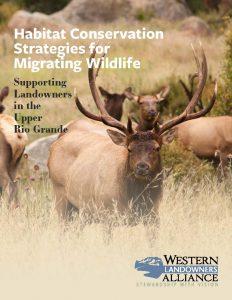 Habitat Conservation Strategies for Migrating Wildlife Cover Image