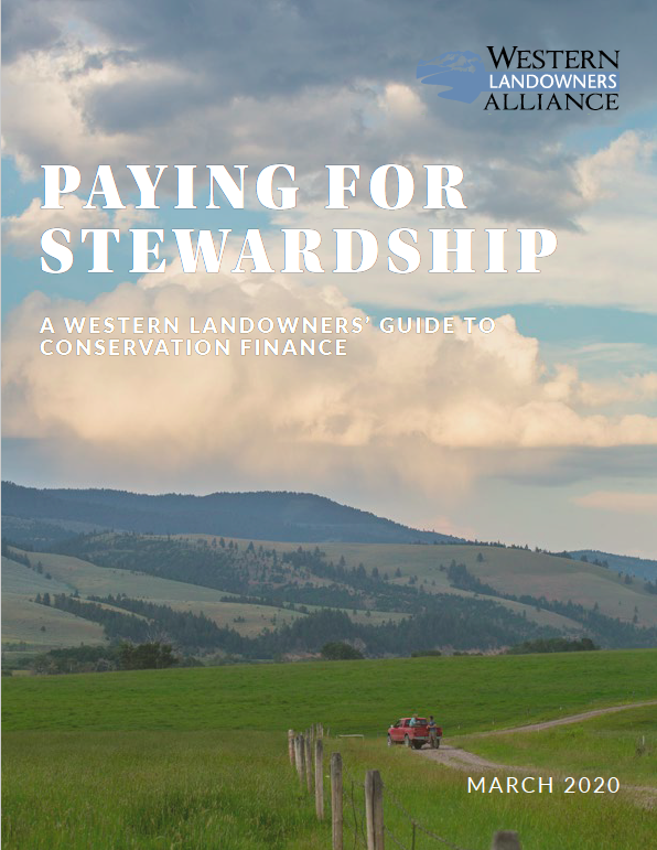 Paying for Stewardship Cover