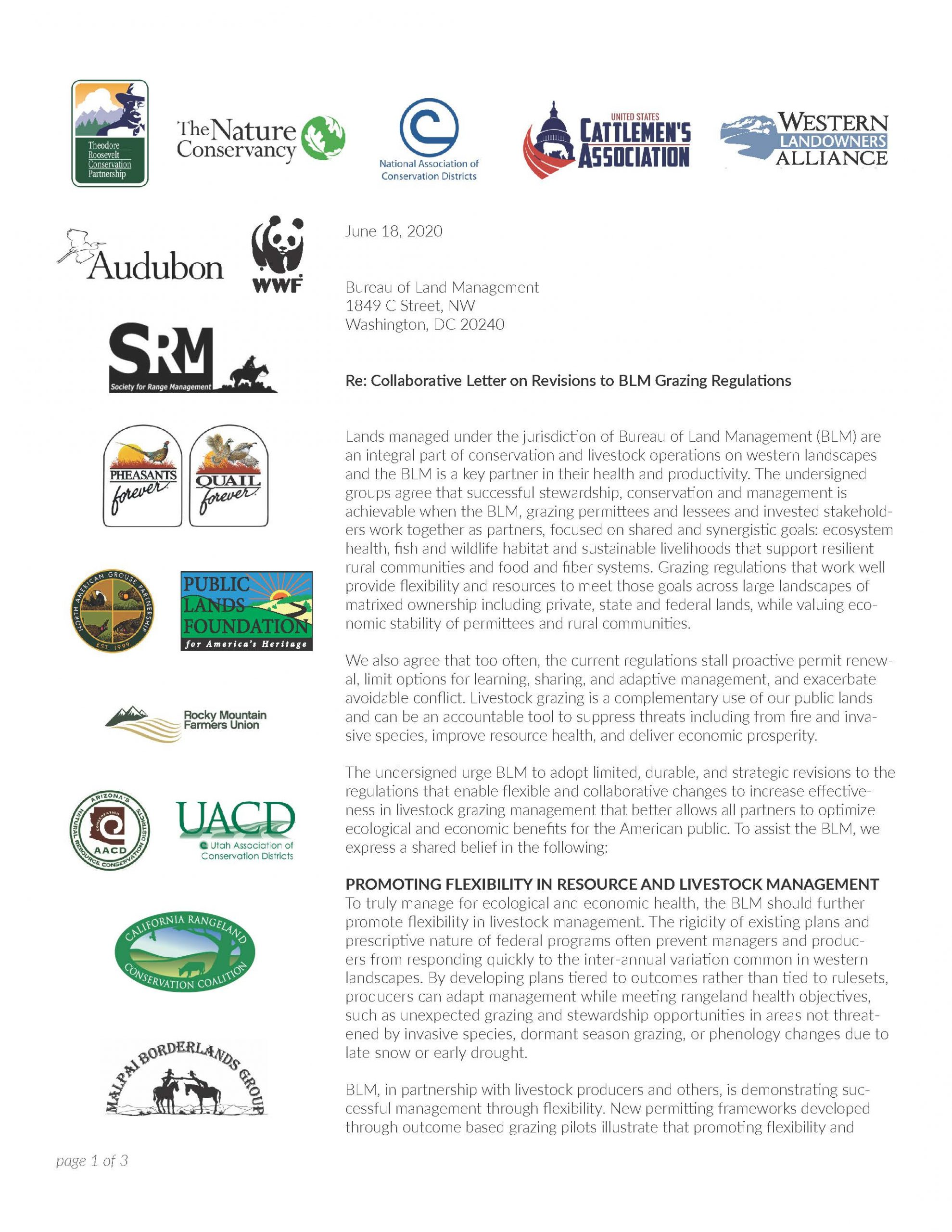 Collaborative Letter on Revisions to BLM Grazing Regulations.vF.061820_Page_1