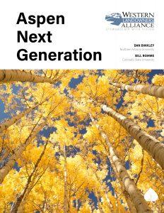 Cover Aspen Next Generation Report