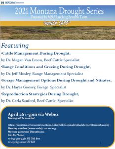 2021 Montana Drought Series