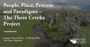 Three Creeks Webinar Banner